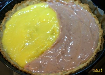 Grapefruit Lemon Curd Tarte
